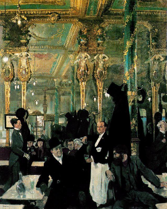 The Cafe Royal, London, 1912
